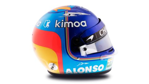 Fernando Alonso bought by Astra Cartwheels  at 07:53:19
